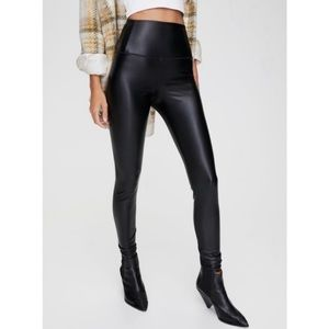 Wilfred Free Faux Leather Daria Legging Pant